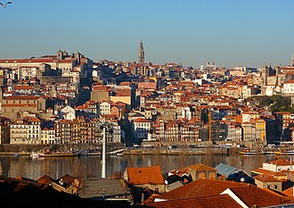 Norte Region, Portugal - Porto old town.