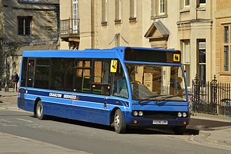 Islip, Oxfordshire - Charlton Services bus on route 94 at its terminus outside Balliol College, Oxford