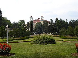French Lick Township, Orange County, Indiana - West Baden Springs, in French Lick Township