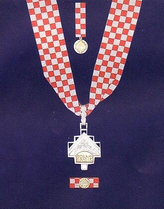 Order of Duke Branimir - Order of Duke Branimir