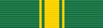 Jakaya Kikwete - Image: Order of the Green Crescent of Comoros ribbon bar