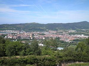 Errenteria - Panoramic view of Errenteria, from Mount San Marko