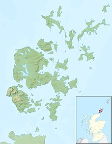 Relief Map: Orkney
