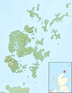 Auskerry is located in Orkney Islands