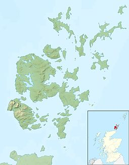 Rousay is located in Orkney Islands