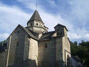 L'Hôpital-Saint-Blaise - 12th-century Romanesque church
