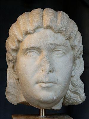 Marcia Otacilia Severa - Otacilia Severa, wife of Philip I the Arab. Lunense marble, 244–249. From the Via dei Fori Imperiali, 1933. (Centrale Montemartini, Rome)