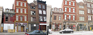 Over-the-Rhine - A comparison of a section of Vine Street from 2009 and 2013.