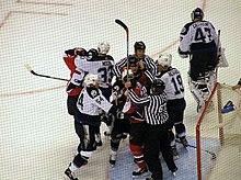 Violence In Ice Hockey Wikipedia