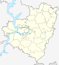 Kinel is located in Samara Oblast