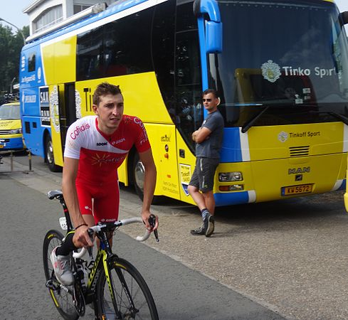 Péronnes-lez-Antoing (Antoing) - Tour de Wallonie, étape 2, 27 juillet 2014, départ (B50).JPG