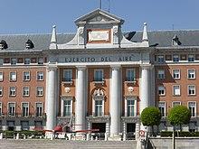 cuartel general del ej rcito del aire wikipedia la