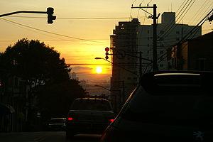Pôr-do-Sol em São Paulo - by Lucas.JPG