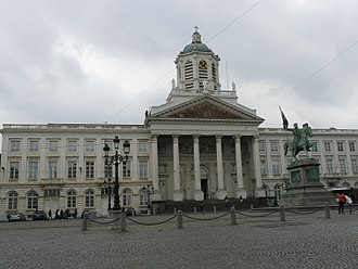 Place Royale (Brussels) - Place Royale, fronted by the Church of Saint Jacques-sur-Coudenberg.