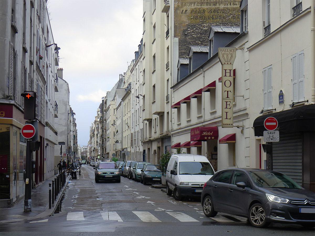Rue fondary wikip dia for Rue des bains