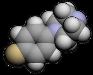 Para-Fluorophenylpiperazine - Image: PFPP3d
