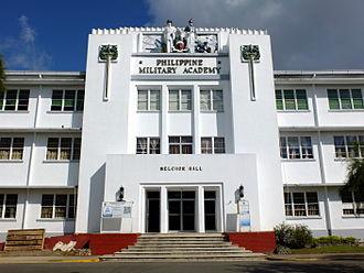 Philippine Military Academy - Facade of Melchor Hall, PMA