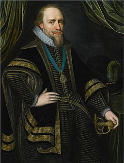 PORTRAIT OF PRINCE MAURITS OF ORANGE (1567-1625)