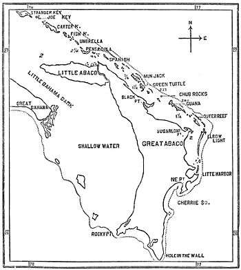 PSM V32 D328 Map of abaco island and its adjoining reef.jpg