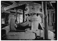 PULVERIZER IN HOIST HOUSE - The Carissa Mine, South Pass City vicinity, South Pass City, Fremont County, WY HABS WYO,7-SOPAC,3-19.tif