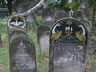 Pabianice - Jewish cemetery in Pabianice