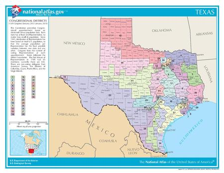 United States Congressional Delegations From Texas Wikipedia - Us senate map 2015