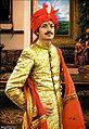 Painting of Manvendra Singh Gohil.JPG