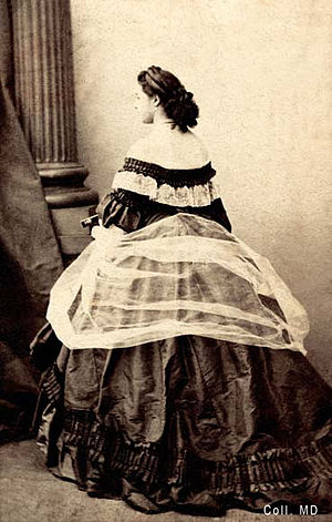 La Païva - La Paiva, in an 1860s portrait by Marie-Alexandre Alophe