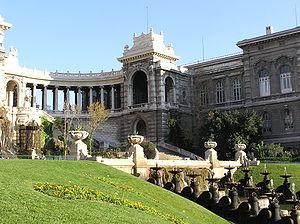 Muséum d'histoire naturelle de Marseille - Image: Palais Longchamps MHN Marseille
