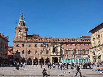 Palazzo d'Accursio - Palazzo d'Accursio in Bologna.
