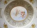 Palazzo delle cento finestre, primo piano, sala E, volta con affreschi di luigi catani 03.JPG