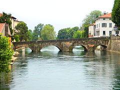 Ponte Romano sull'Oglio (IV sec.) a Palazzolo