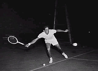 Pancho Gonzales American tennis player
