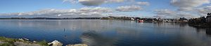 Puerto Varas -  Panoramic view of Puerto Varas