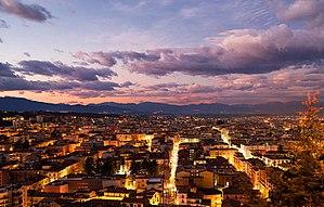 Cosenza - Image: Panorama Cosenza nuova