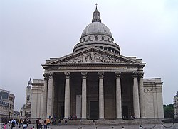Condorcet was interred in The Panthéon (pictured) in 1989, where his remains now rest.