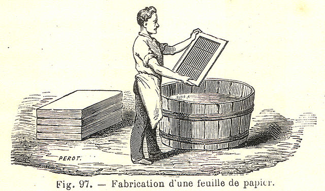 Papierherstellung - Fabrication du papier
