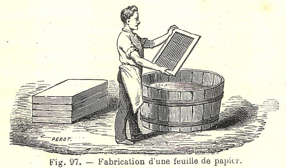 Papier fabrication
