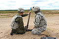 Paratroopers with 173rd Airborne Brigade fire javelins and mortars with Lithuanian forces 140621-A-NM804-679.jpg