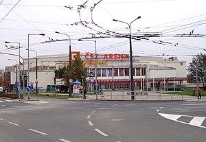 2002 World Junior Ice Hockey Championships - Image: Pardubice, Sukova str