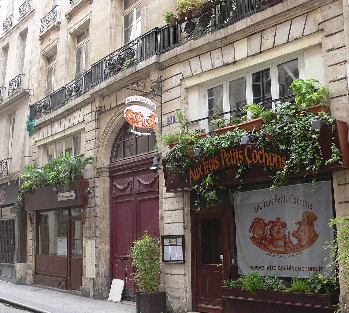 File paris 31 rue tiquetonne rez de chauss wikimedia commons - Rez de chaussee paris ...