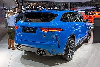 Jaguar F-Pace - Jaguar F-Pace SVR