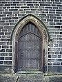 Parish Church of St Nicholas with St John and St Michael, Newchurch, Doorway - geograph.org.uk - 684992.jpg