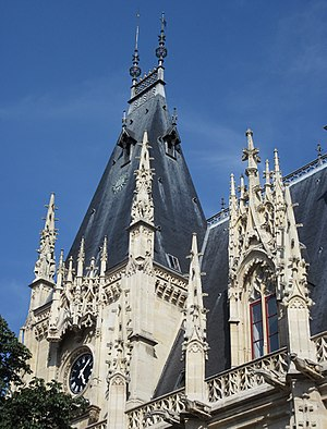 Parlement de Normandie - Frontage of the Parliament of Normandy in Rouen
