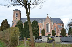 Schilde - Image: Parochiekerk Sint Guibertus (zuiden)