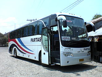 King Long - One of the Golden Dragon buses operating in the Philippines with the Partas Transportation Co. Inc..