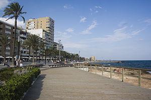 Torrevieja - Torrevieja: Juan Aparicio Seafront