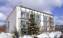 Original Passivhaus, Darmstadt, in winter