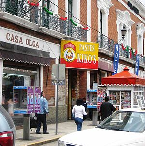 International Pasty Festival - Pastes Kiko's, a pastes chain in Pachuca Mexico