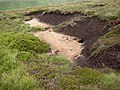 Patch of sand on Birk Moss, Marsden - geograph.org.uk - 480834.jpg